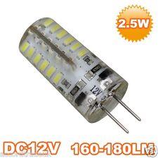 G4 2.5W HALOGEN 3014-SMD LED Cold White Light Bulb 12V Uk Seller