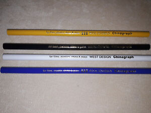 West Design/Royal Sovereign Chinagraph Pencils 4 Assorted Colours To Choose From
