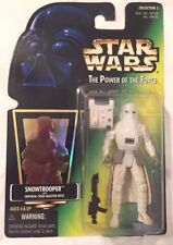 """STAR WARS SNOWTROOPER 4"""" FIGURE WITH IMPERIAL BLASTER RIFLE 69632 """"KENNER"""" NEW"""