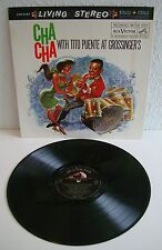 Tito puente   Cha Cha with tito puente at Grossinger 's   Living stereo   vinyle