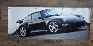Werbe Banner für Porsche Fans / GT RS / turbo 996 911 993 Carrera