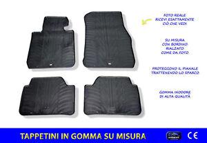 Tappetini Auto BMW Serie1 5p. (F20) dal 2011>06/2019 in Gomma Tappeti  su misura
