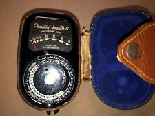 Weston Master II- Universal Exposure Meter- Model 736 with Case Free Shipping