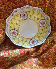 "Royal Danube 1886 Yellow Adeline Large 9"" Bowl"
