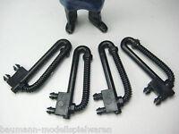 LGB Ersatzteil - 4 Bremsschläuche / Heizschläuche für LGB Personenwagen
