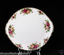 ROYAL ALBERT CHINA OLD COUNTRY ROSES HANDLED CAKE PLATE MADE IN ENGLAND #2 - NEW