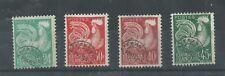 lot de 4 timbres préos sans gomme N° 114 à 117 année 1953