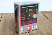 "Vintage DesignCAD v 4.0 3D Modeling Software Sealed Windows 3.5"" Disk Floppy CAD"