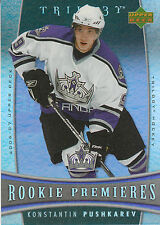06-07 UPPER DECK TRILOGY ROOKIE RC #116 KONSTANTIN PUSHKAREV /999 KINGS *2372