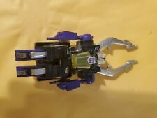 Transformers Hasbro G1 SHRAPNEL DECEPTICON INSECTICON INCOMPLETE NO GUN FORPARTS
