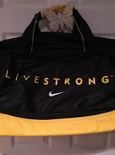 NIKE *RARE* LIVE STRONG BRAND NEW-LARGE DUFFEL BAG*Lance Armstrong*