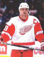 STEVE YZERMAN 8X10 PHOTO HOCKEY DETROIT RED WINGS PICTURE NHL