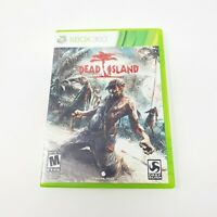 DEAD ISLAND Microsoft XBOX 360 Video Game COMPLETE w/ Manual  TESTED Working