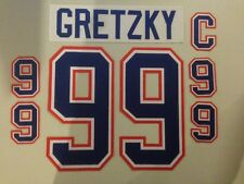 Edmonton Oilers Jersey Lettering Kit Any Name/Number