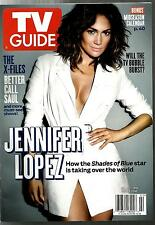 TV GUIDE-1/16-JENNIFER LOPEZ-SHADES OF BLUE-VINYL-THE FAMILY-WINTER PREVIEW-NML