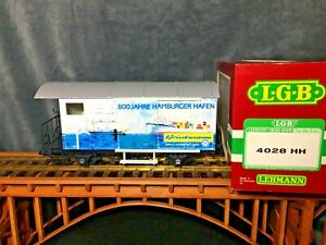 LGB #4028 HH Hamburg Harbor 800th Anniversary * Original  box * G Scale *