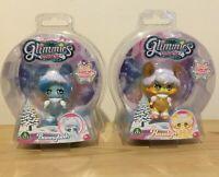 Glimmies Polaris Dolls x 2 Hazelyn and Bunnybeth New In Sealed Box