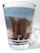 NIAGARA FALLS USA COLOR PHOTO SHOT GLASS SHOTGLASS