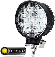 4Inch 27W Round Spot Beam Led Work Light Driving Fog Light UTV ATV SUV Headlight