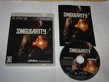 Singularity Playstation 3 PS3 Japan import US Seller