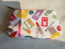 """CLINIQUE Zippered Makeup / Cosmetic Bag New without Tags 6.5"""" X 4"""""""