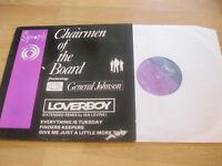 Maxi Single LP Chairmen of the Board feat. General Johnson Loverboy Vinyl