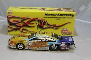 NHRA Diecast 1:24 - Kenny Koretsky - 2005 Pro Stock - Nitro Fish Wear - SIGNED