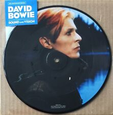 "DAVID BOWIE * SOUND AND VISION * 40TH ANNIVERSARY LIMITED ED 7"" PICTURE DISC BN!"