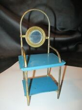 Doll House Vanity Wash Stand Art Design Germany 1920's Miniature Pressed Tin Toy