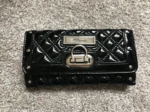 JANE NORMAN BLACK QUILTED PURSE
