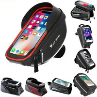 Bicycle Cycling Bike Frame Front Tube Bag Waterproof Mobile Phone Pack Holder