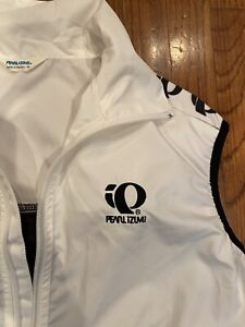 Pearl Izumi Zephrr  Womens S Cycling  Vest White & Black Euc