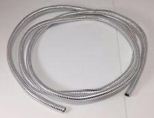 "Wire Loom 1/4"" Diameter 72"" Long Universal (Chrome)"