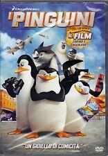 Dvd DreamWorks «I PINGUINI DI MADAGASCAR ♥ IL FILM CARINO E COCCOLOSO» nuov 2014