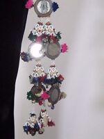 Handcrafted Vintage Kuchi Women Dress Tassel Bracelet