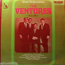 The VENTURES Great Performances / Volume 1 LP - Surf Guitar