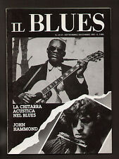 IL BLUES 12-13/1985 HAMMOND GARY DAVIS BROONZY MAURIZIO BONINI CIOTTI TOFFOLETTI