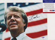 PRESIDENT JIMMY CARTER SIGNED AUTOGRAPH 8X10 PHOTO PSA/DNA COA #P77350