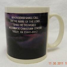 Linyi Silver Phoenix Believe in Miracles Sun Rise Set Accomack Christian Mug Cup