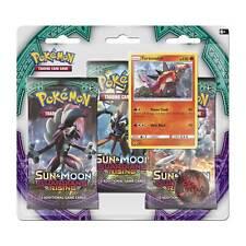 Pokémon TCG: Sun & Moon-Guardians Rising 3 Booster Packs, Coin & Turtonator Prom