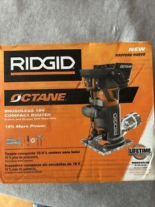 RIDGID R860443B 18V Cordless Brushless Compact Router