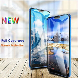 Full Cover Tempered Glass For Huawei P40 Pro V30 Honor 30S Y9S Y6S 7i Protective
