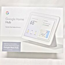 Google Nest Hub with Built-In Google Assistant, Chalk (GA00516-US) NEW!! SEALED!