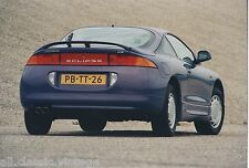 PRESS - FOTO/PHOTO/PICTURE - MITSUBISHI ECLIPSE B