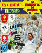 Miroir du Rugby n°159 - 1975 - John Dawes - Le quinze de France - Karl Mullen -
