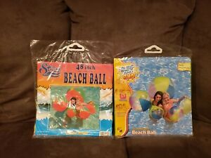 Strand Imports & Bestway Jumbo Beach Ball Lot 48""