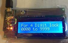 EFI MAC Unlock Teensy 3.2 header USB with HD44780 LCD DisplayBoard D I Y Cloud