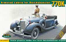 Ace Models 1/72 Mercedes Benz Type 770K Armored Cabriolet For Reichskanzler