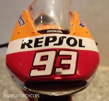1:18 2014 FACTORY HRC REPSOL HONDA RCV213 DIECAST TOY MODEL MARC MARQUEZ #93