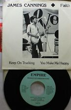 Soul Picture Sleeve 45 James Cannings & Faith - Keep On Trucking / You Make Me H